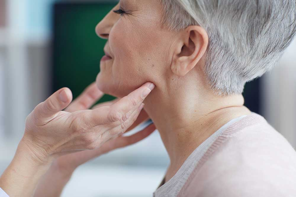 """Chances are the last thing you want your appearance compared to is a turkey — but, unfortunately, aging can result in developing a """"turkey neck."""" As you age, the skin around your face loses its elasticity and gravity begins to pull it downward."""